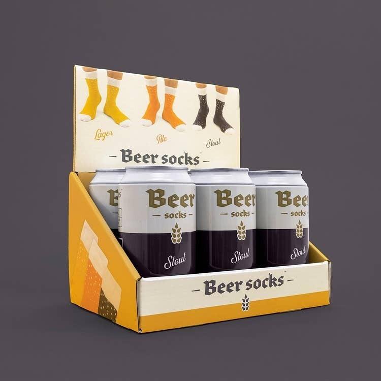 Luckies of London - Stout Beer Socks