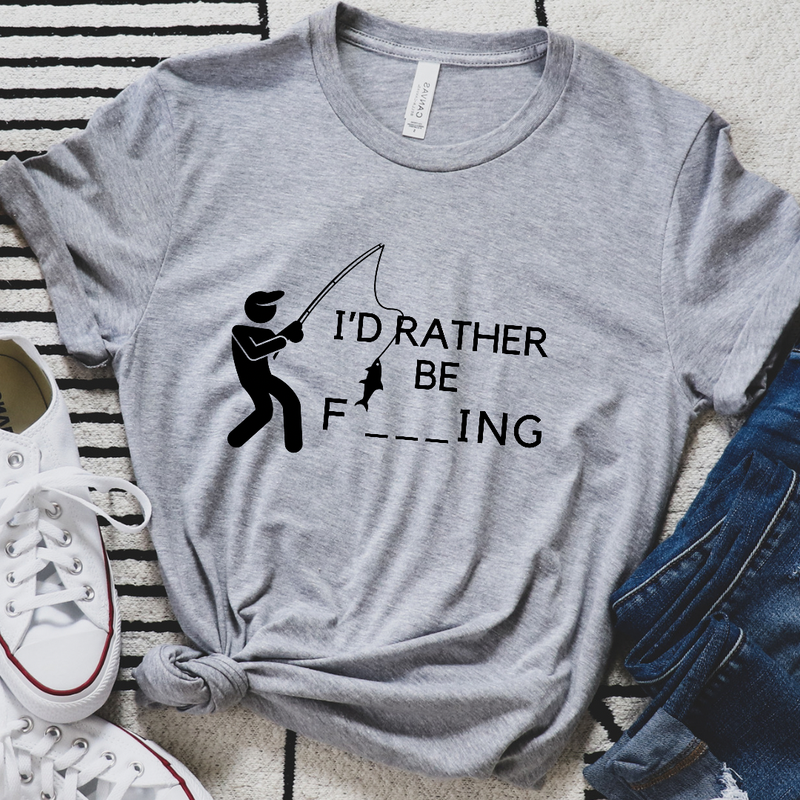 I'd Rather Be F___ing Graphic Tee