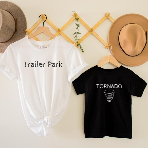 Trailer Park / Tornado Mommy & Me Graphic Tee