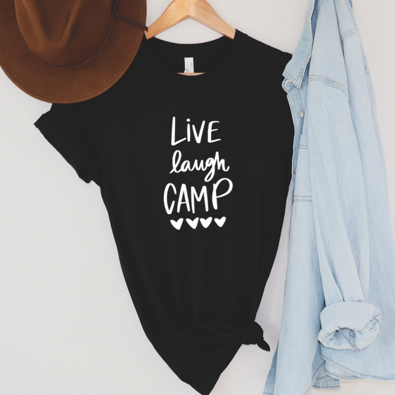 Live Laugh Camp Graphic Tee