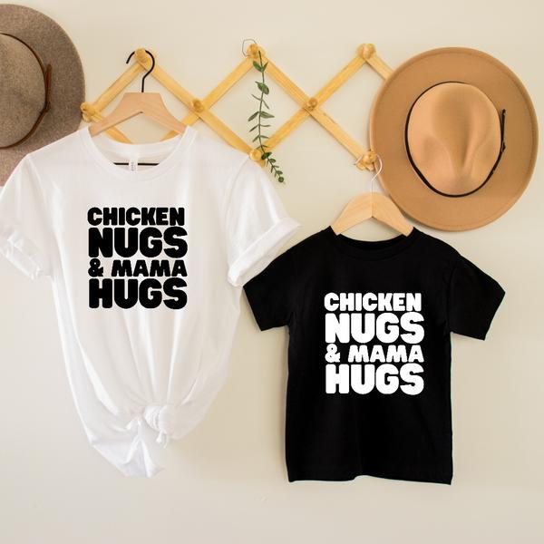 Chicken Nugs & Mama Hugs Graphic Tee
