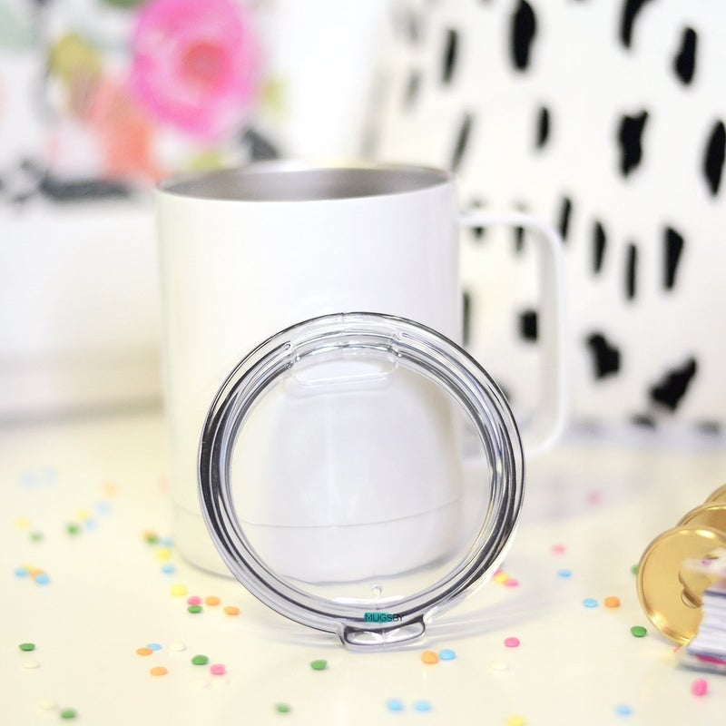 Over It Stainless Steel Mug with Handle *Pre-Order*