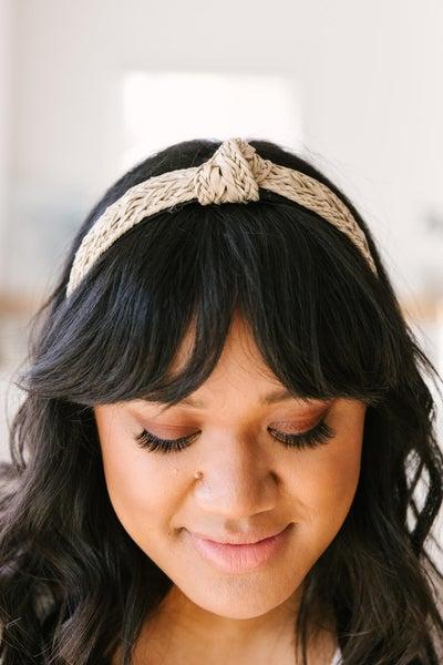 Woven Knot Headband