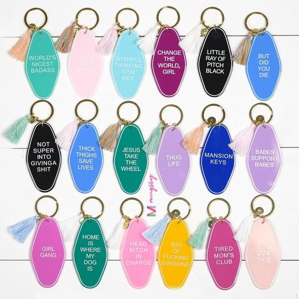 Sassy Life Keychains