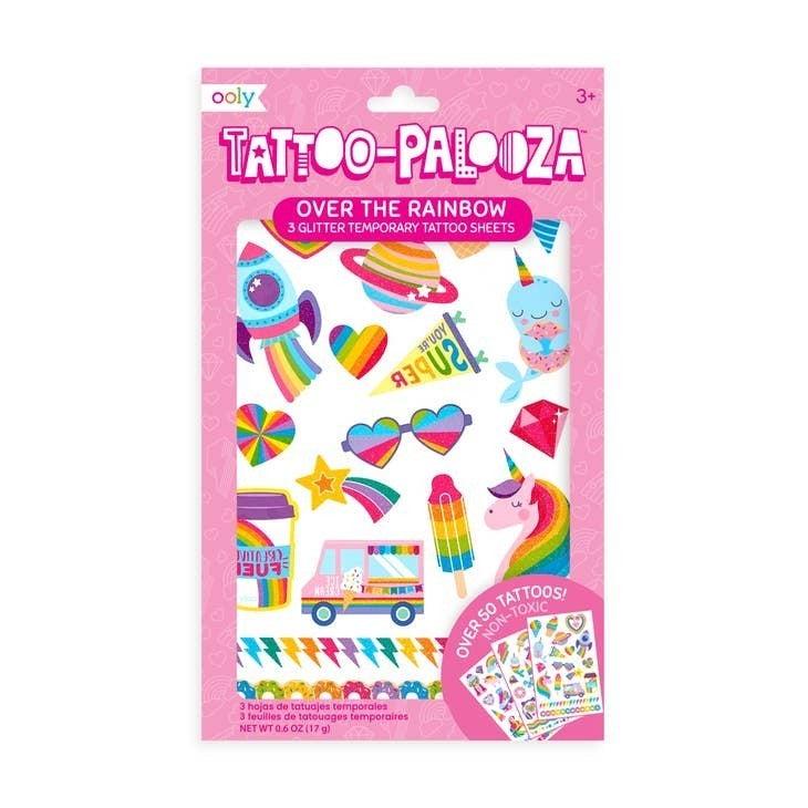 Tattoo Palooza Temporary Tattoo - 4 Themes