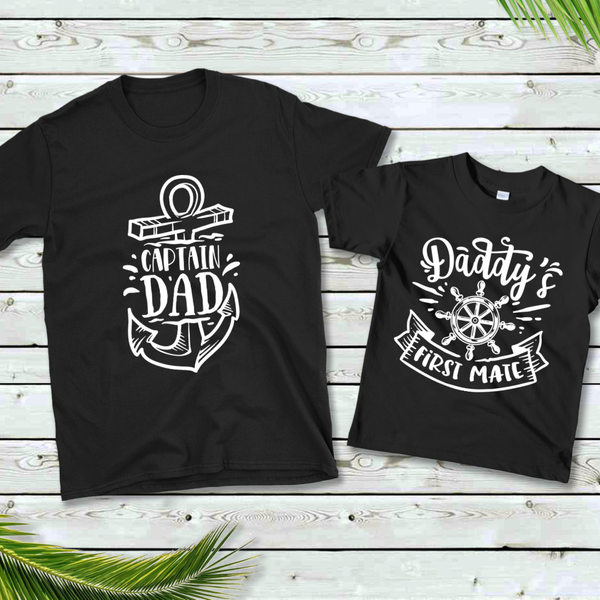 Captain / First Mate Daddy & Me Graphic Tee