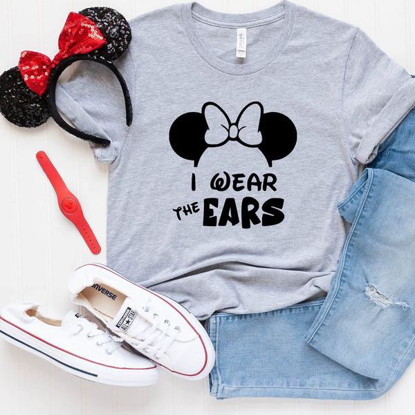 I Wear The Ears Magical Graphic Tee