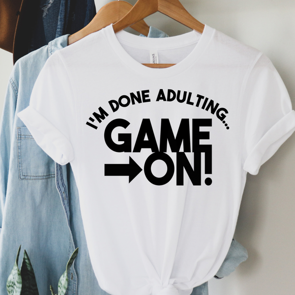Game ON Gamer Graphic Tee
