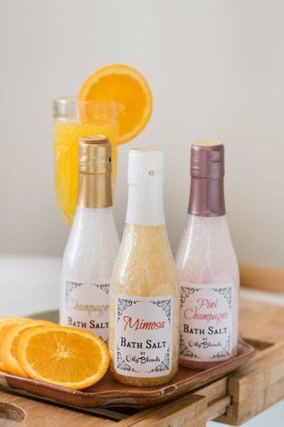 Wine-Down Bath Salts
