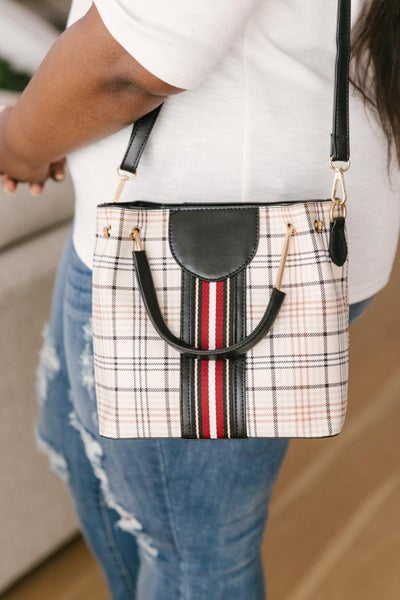 The Calee Gingham Bag
