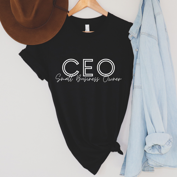 CEO Small Business Graphic Tee