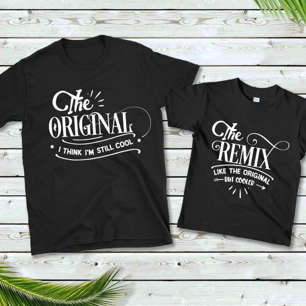 Original / Remix Dad & Me Graphic Tee