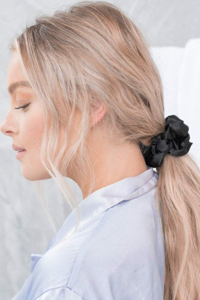 Unwind Satin Oversized Sleep Scrunchies