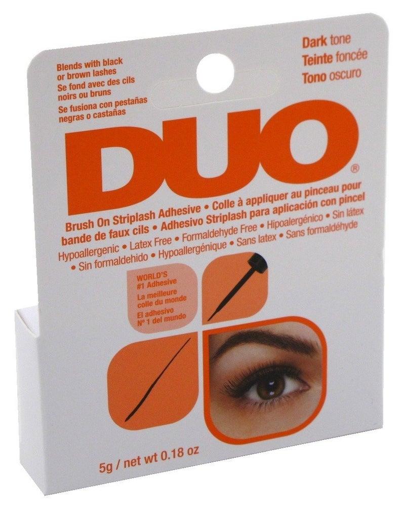 Duo Brush-On Striplash Adhesive Glue Dark Tone