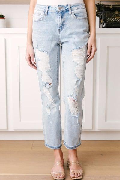 Jackson Mid-Rise Boyfriend Jeans