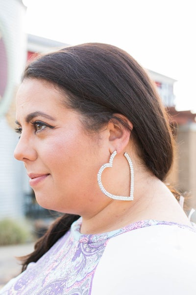 Heartthrob Hoop Earrings