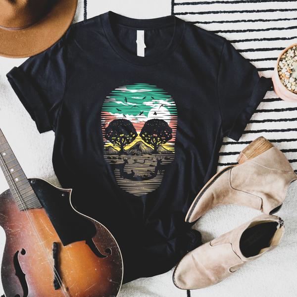 Desert Skull Graphic Tee