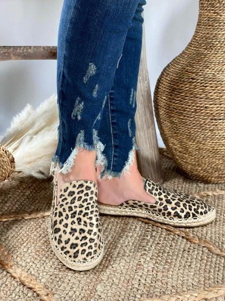 Corkys Taffy Metallic Leopard Slip-on