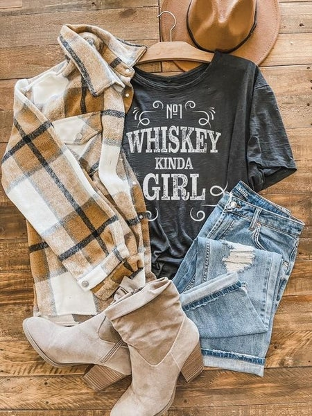 Whiskey Kinda Gal *Graphic Tee Pre-Order*