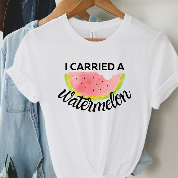 I Carried a Watermelon Graphic Tee