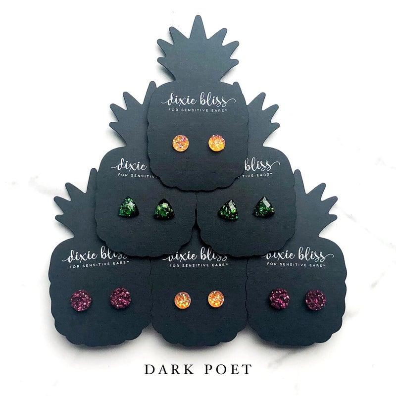 Dark Poet Stud Singles - 3 Colors