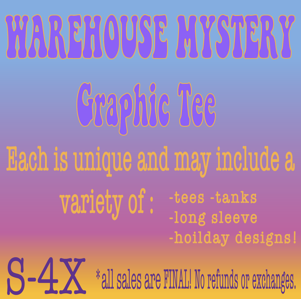 Warehouse Mystery Graphic Tee