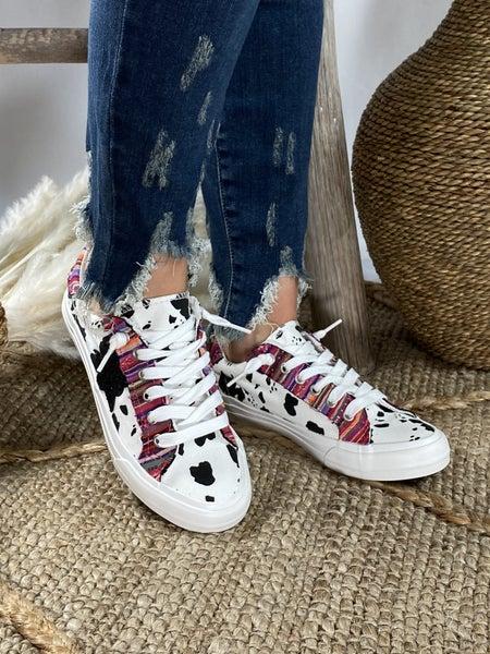 Very G Cosmic Cow and Serape Sneaker