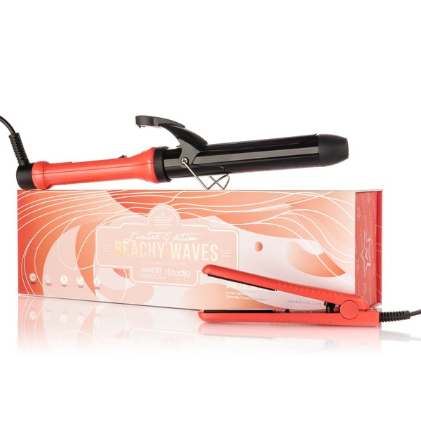 Almost Fabous - Beachy Waves 2pc Set with Curling Wand & Mini To Go in Orange