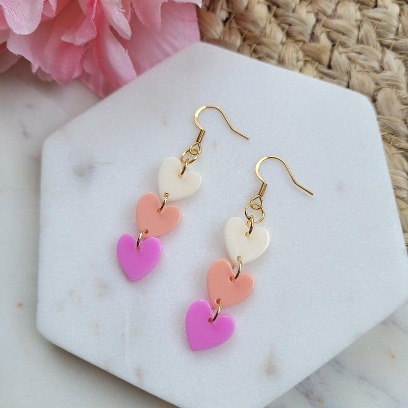 Candy Heart Earrings
