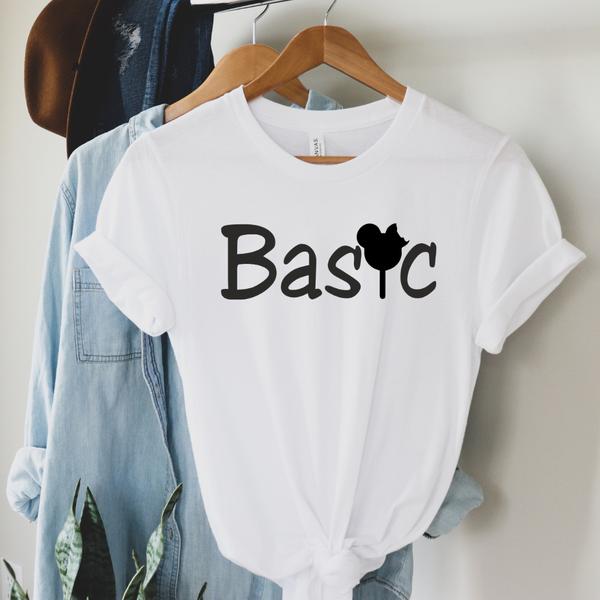 Basic Disney Style Graphic Tee