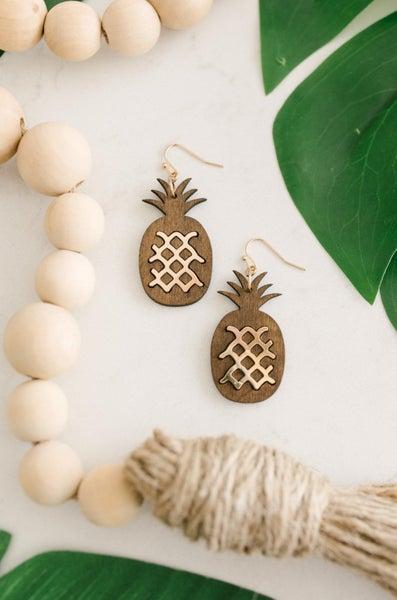 Pop O' Pineapple Earring