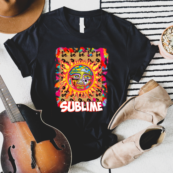 Sublime Rock N Roll Graphic Tee
