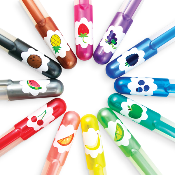 Yummy Scented Gel Pens - Set of 12