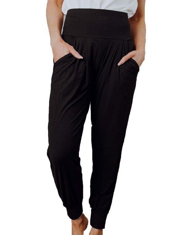 Black Harem Leggings