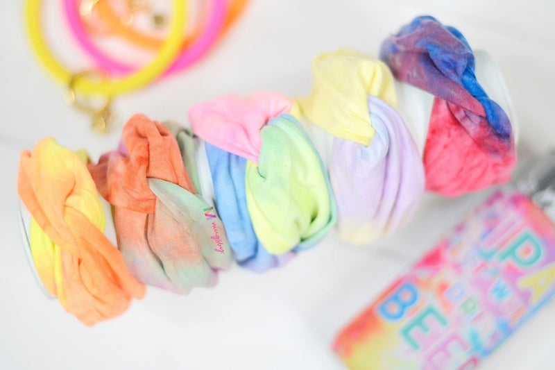 Heavenly Tye-dye Headbands