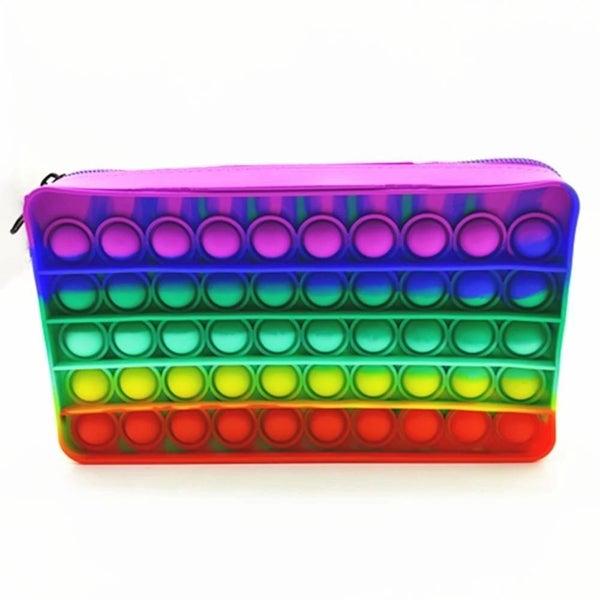 Bright Rainbow Pop It Bag