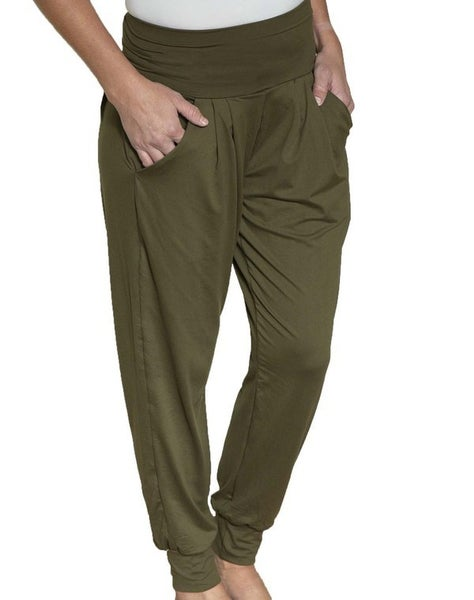 Olive Harem Leggings