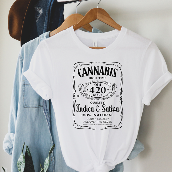 420 High Time Rock N Roll Graphic Tee