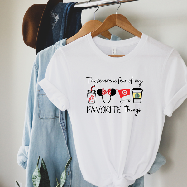 Magical Favorite Things Graphic Tee
