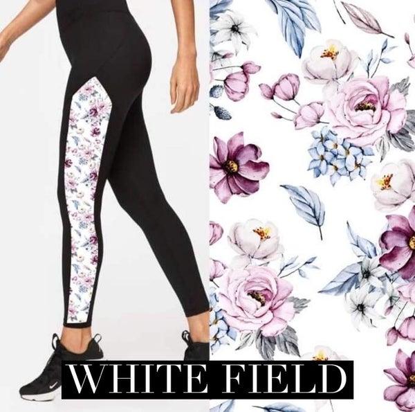 White Field Leggings