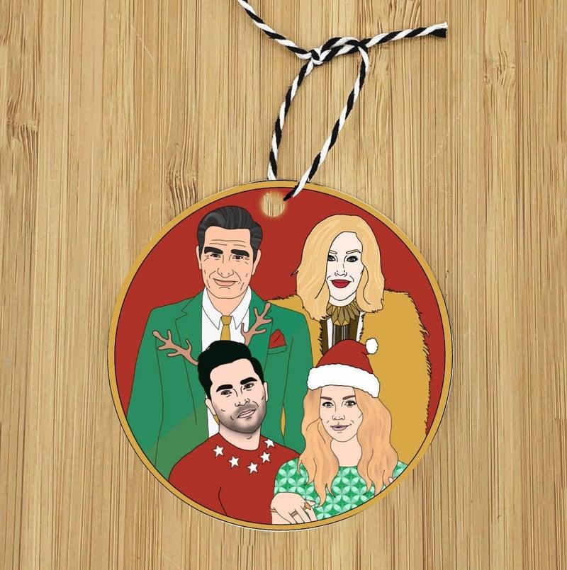 Schitt's Creek Holiday Ornament