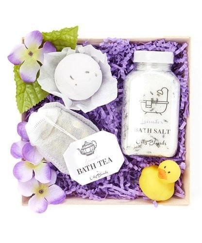 Lavender Handmade Bath Gift Set