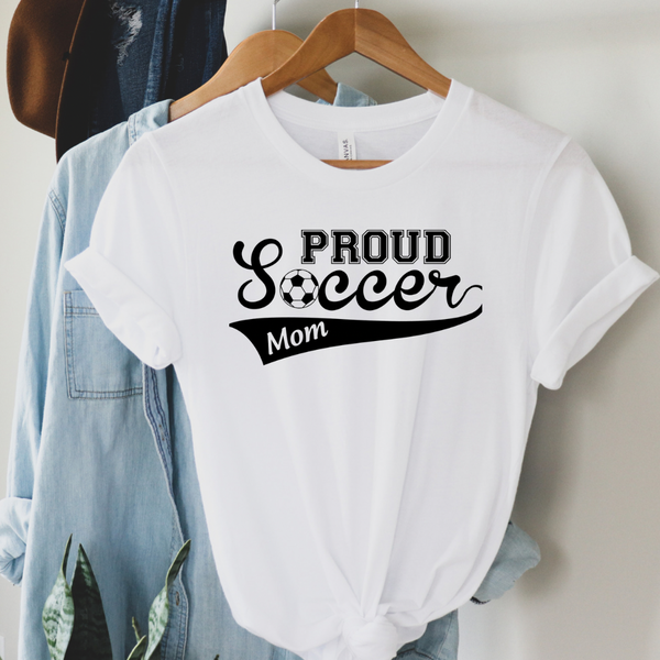Proud Soccer Mom Graphic Tee