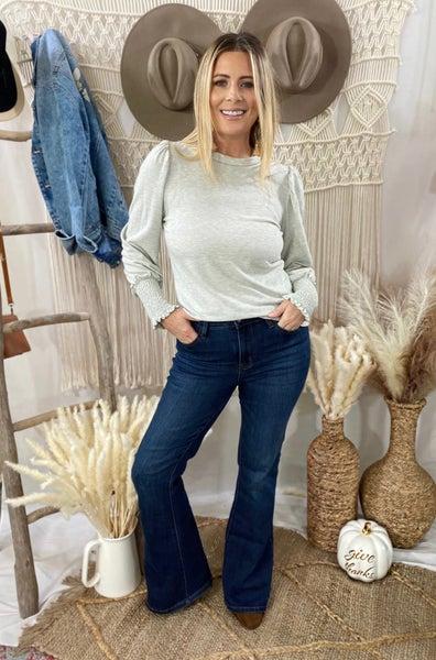 Judy Blue Desiree Slim Non Distressed Boot Cut