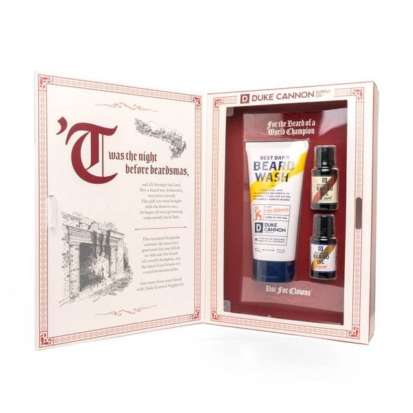 Miracle on 34th Beardth St Gift Set