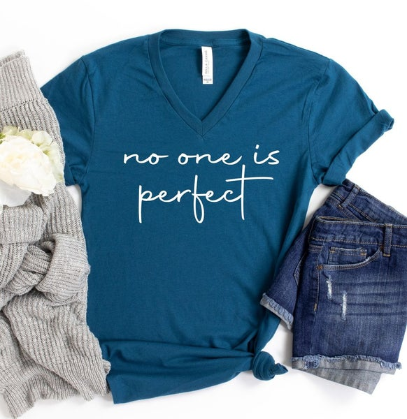 No One Is Perfect  Graphic Tee