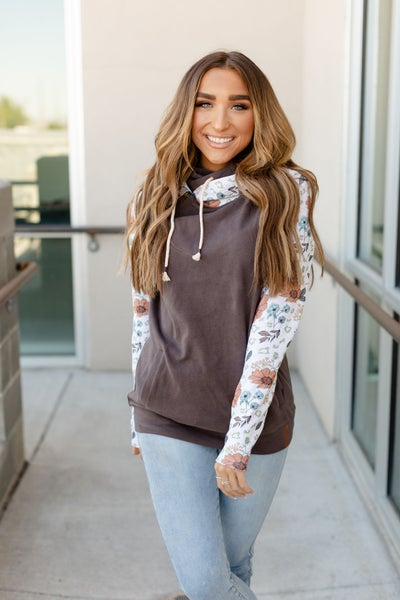 A&A DoubleHood Sweatshirt - Wild Flowers *Pre-Order*