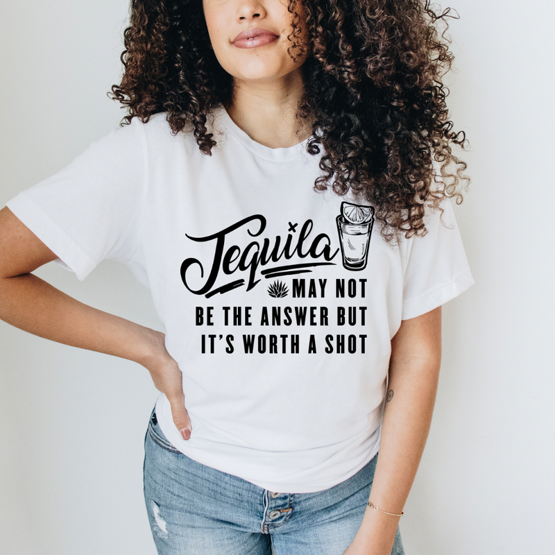 Tequila - Worth A Shot Graphic Tee