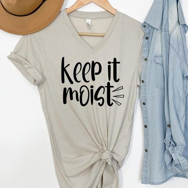 Keep It Moist Graphic Tee