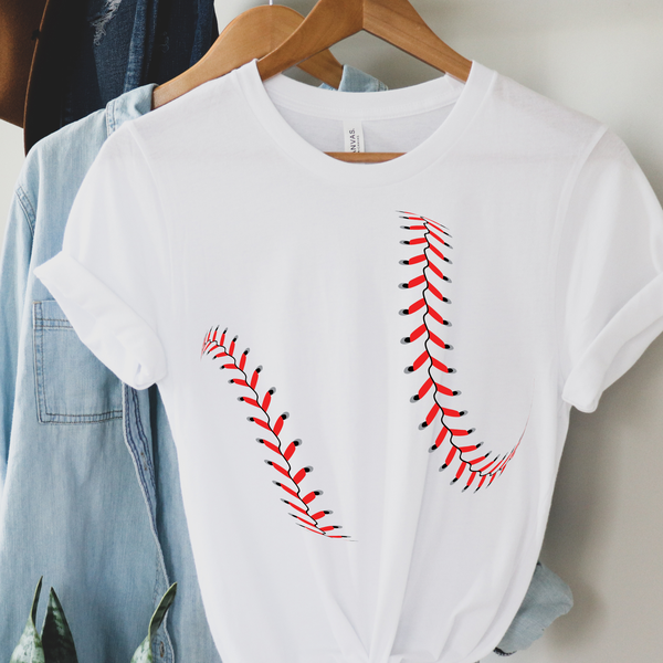 Baseball Threads Graphic Tee